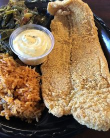 "Another Top-Notch Soul Food Joint ""Rhema Soul"" Cuisine Gets Cooking Downtown"