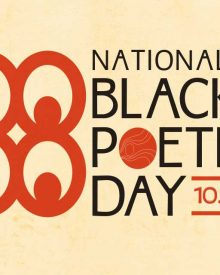 National Black Poetry Day Mixer/Launch  Oct. 17
