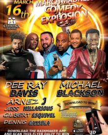 Madness Comedy Explosion Mar. 16