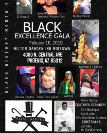 Black Excellence Gala  Feb. 16